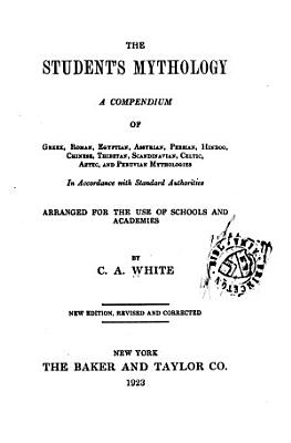 The Student s Mythology PDF