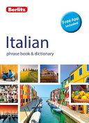 Italian - Berlitz Phrase Book and Dictionary