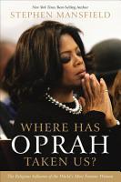 Where Has Oprah Taken Us  PDF