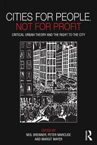 Cities for People  Not for Profit Book
