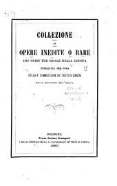 Collezione di opere inedite o rare: Volume 51