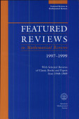 Featured Reviews In Mathematical Reviews 1997 1999