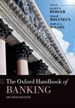The Oxford Handbook of Banking  Second Edition PDF