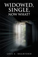 Widowed  Single  Now What  PDF