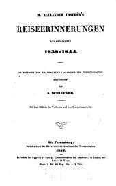 Nordische Reisen und Forschungen: Band 1