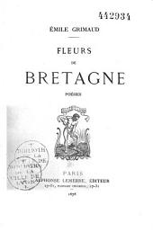 Fleurs de Bretagne: poésies