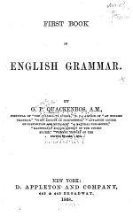 First Book in English Grammar