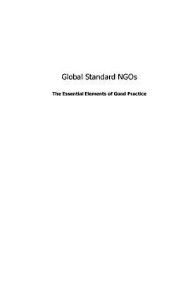 Global Standard NGOs PDF