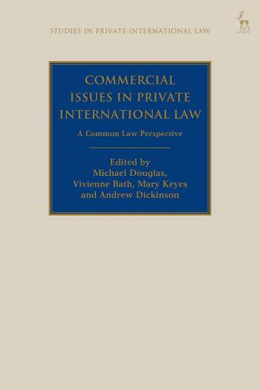 Commercial Issues in Private International Law PDF
