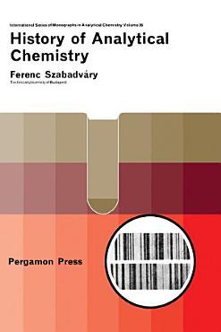 History of Analytical Chemistry PDF