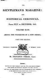 The Gentleman's Magazine, and Historical Chronicle, for the Year ...