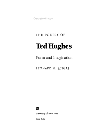 The Poetry of Ted Hughes PDF