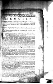 Mémoire pour Noël Mignot, chevalier seigneur de Bussy & de la Martiziere, conseiller du Roy.... Contre messire Henry marquis de Seneterre... et Me Nicolas Micollier greffier des insinuations du Beaujolois audit Villefranche...