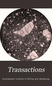 Transactions: Volumes 11-12