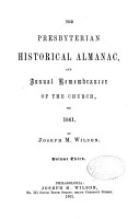 The Presbyterian Historical Almanac  and Annual Remembrancer of the Church PDF