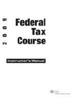 2009 Federal Tax Course PDF