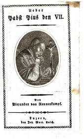 Über Pabst Pius den VII.