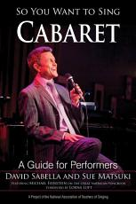 So You Want to Sing Cabaret PDF