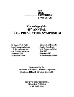 Proceedings of the     Annual Loss Prevention Symposium PDF