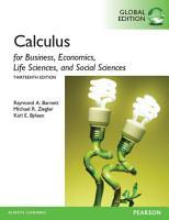 Calculus for Business  Economics  Life Sciences and Social Sciences  Global Edition PDF