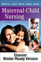 Maternal Child Nursing   E Book PDF