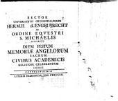 De ordine equestri S. Michaelis