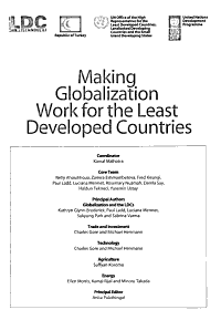 Making Globalization Work for the Least Developed Countries PDF