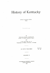 History of Kentucky: Volume 2