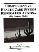 Comprehensive Health Care System Reform in Arizona PDF
