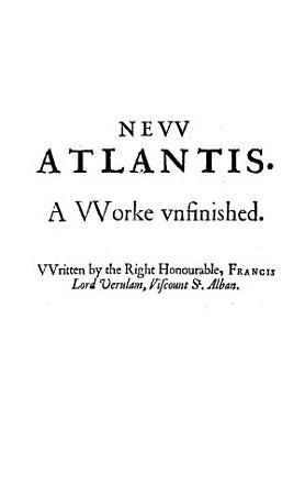 The New Atlantis PDF