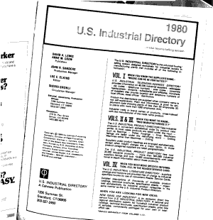 U S  Industrial Directory