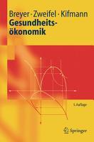 Gesundheits  konomik PDF