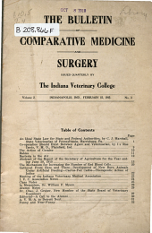 Bulletin of Comparative Medicine & Surgery ...: Volume 2, Issue 3