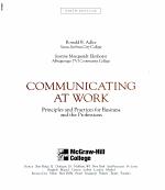 Communicating at Work PDF