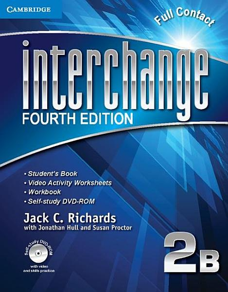 Interchange Level 2 Full Contact B with Self study DVD ROM