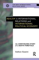 Realism in International Relations and International Political Economy PDF