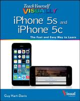 Teach Yourself VISUALLY IPhone 5s and IPhone 5c PDF