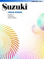 Suzuki Violin School - Volume 4 (Revised): Violin Part