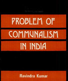 Problem of Communalism in India Book