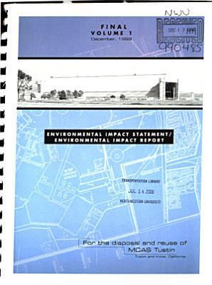 Tustin Marine Corps Air Station  MCAS  Disposal and Reuse PDF