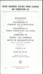 Pacific Northwest Electric Power Planning and Conservation Act