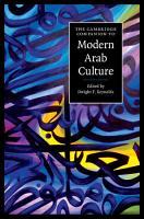 The Cambridge Companion to Modern Arab Culture PDF