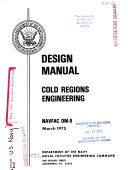 Design Manual, Cold Regions Engineering
