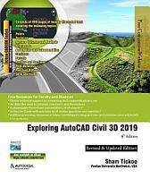 Exploring AutoCAD Civil 3D 2019  9th Edition PDF