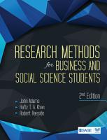 Research Methods for Business and Social Science Students PDF