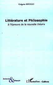 Littérature et philosophie à l'épreuve de la nouvelle théorie: L'amitié impossible d'Orphée et de l'Oiseau de Minerve