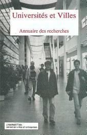 Universités et villes: Annuaire des recherches