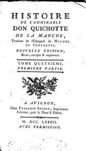 Histoire De L'Admirable Don Quichotte de la Manche: Volume4,Numéro1