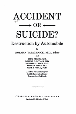 Accident Or Suicide  PDF