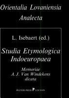 Studia Etymologica Indoeuropaea PDF
